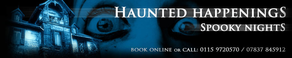 Haunted Happenings Ghost Hunts