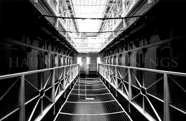 Haunted Courts, Prisons and Jails