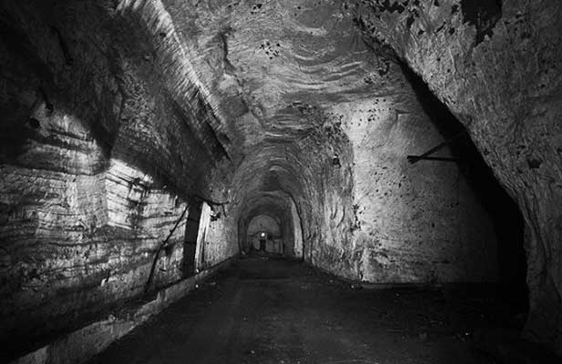 Haunted Tunnels, Ghost Hunts with Haunted Happenings deep underground